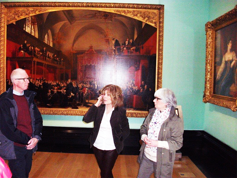 Art Walk in London at the National Art Gallery - London Tour Guide